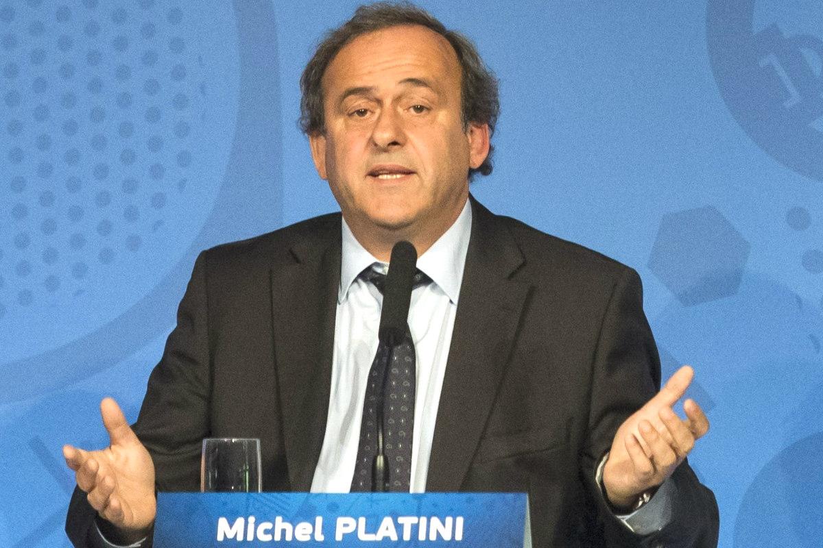 Michel Platini acudió a Le Monde para explicarse.