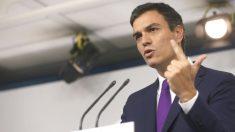 El secretario general del PSOE, Pedro Sánchez. (FOTO: EFE)