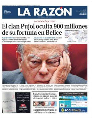 Los Pujol escondían en Panamá más de 2.400 millones y 900 kilos en Belice