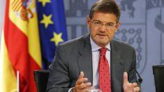El ministro de Justicia, Rafael Catalá, en una comparecencia. (Foto: EFE)