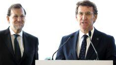 Rajoy y Feijóo en una imagen de archivo (Foto: Efe).