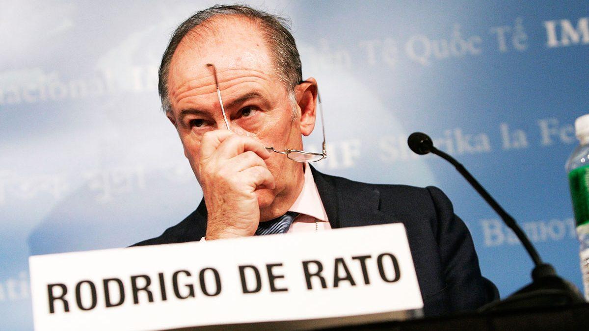 Rodrigo Rato en una reunión del Fondo Monetario Internacional. (Foto: Getty)