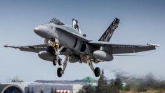 Un F-18 de las fuerza aéreas (Foto: Getty)