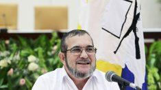 El líder de las FARC Timochenko en una conferencia de prensa en Cuba. (Foto: Reuters)