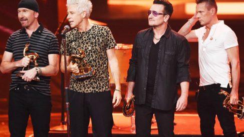 U2, en una imagen reciente (Foto: Getty)