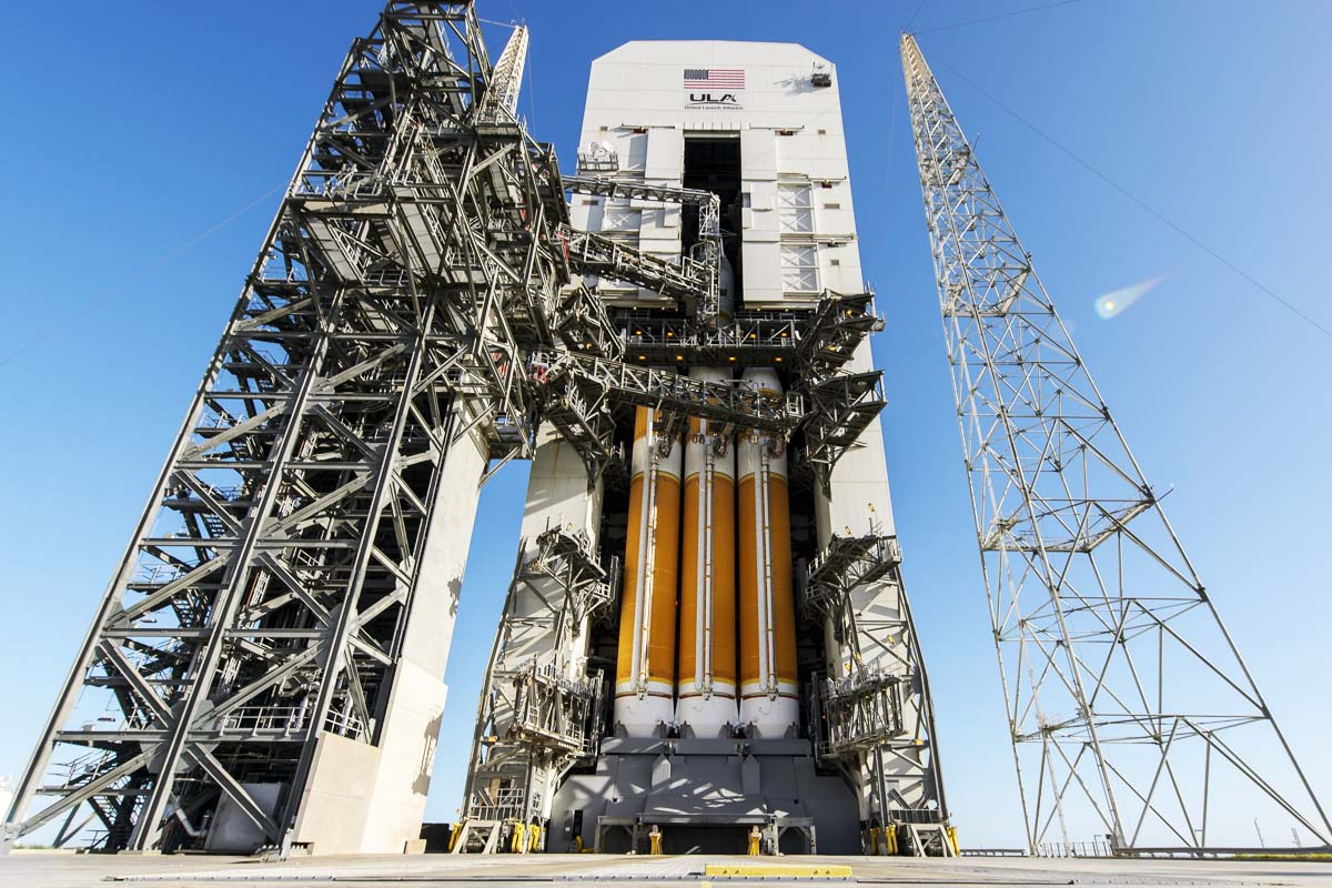 Lanzamiento de cohetes de la ULA (Foto: Getty)