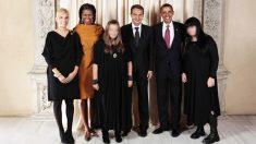 La célebre foto tomada en septiembre de 2009 en Nueva York, en la que la familia Zapatero aparece junto al matrimonio Obama.