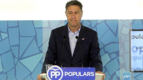 García Albiol en una reciente rueda de prensa (Foto: Efe)
