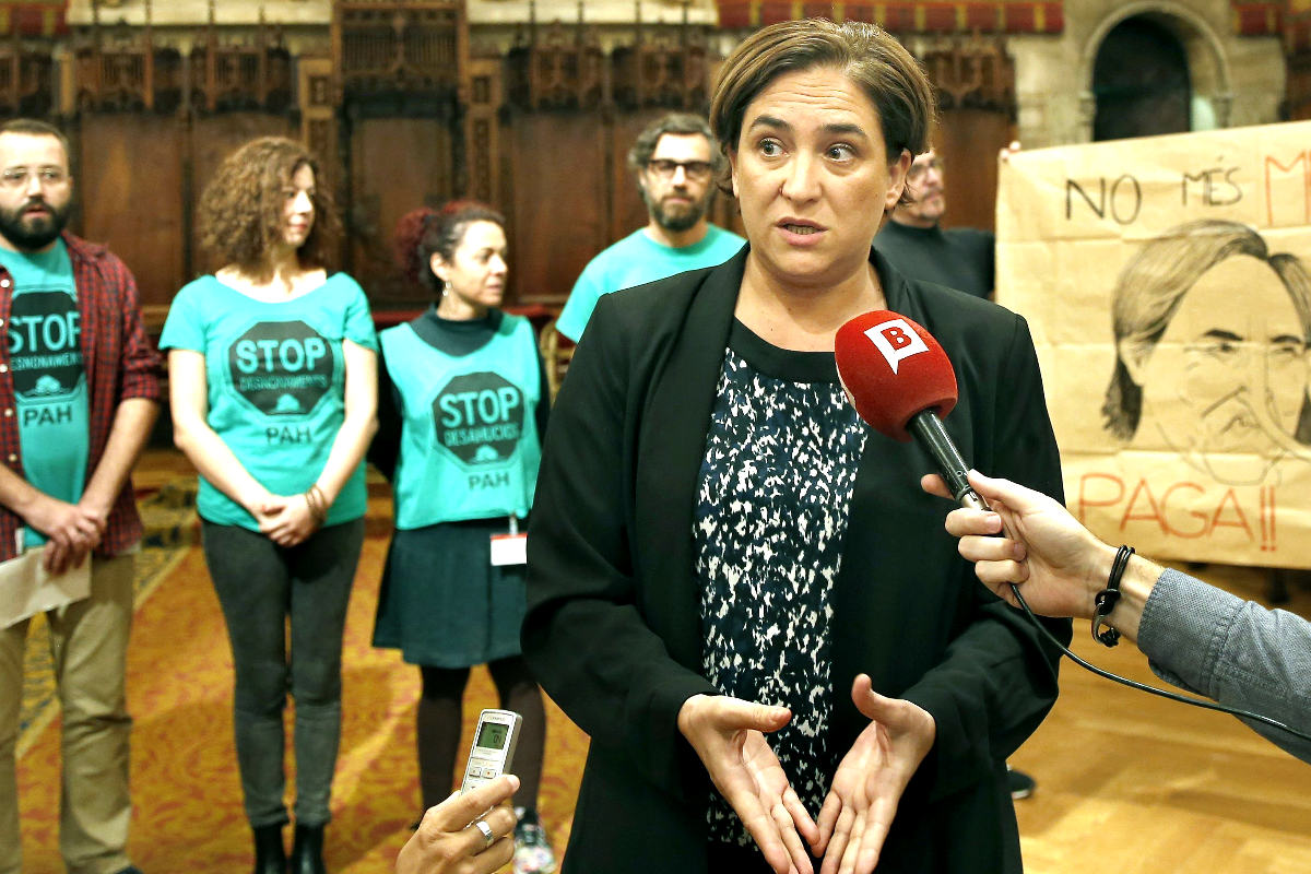Ada Colau en una reciente imagen (Foto: Efe)