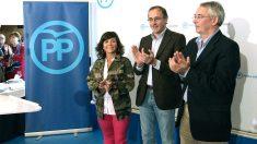 Alfonso Alonso en el acto del PP vasco (Foto: Efe)