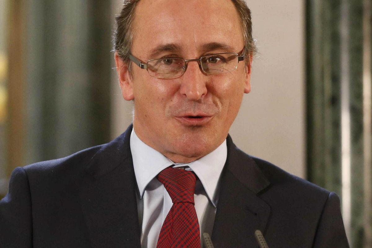 Alfonso Alonso, ministro de Sanidad. (Foto: Efe)