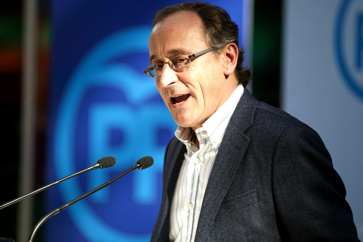Alfonso Alonso en una imagen del pasado año (Foto: Efe)