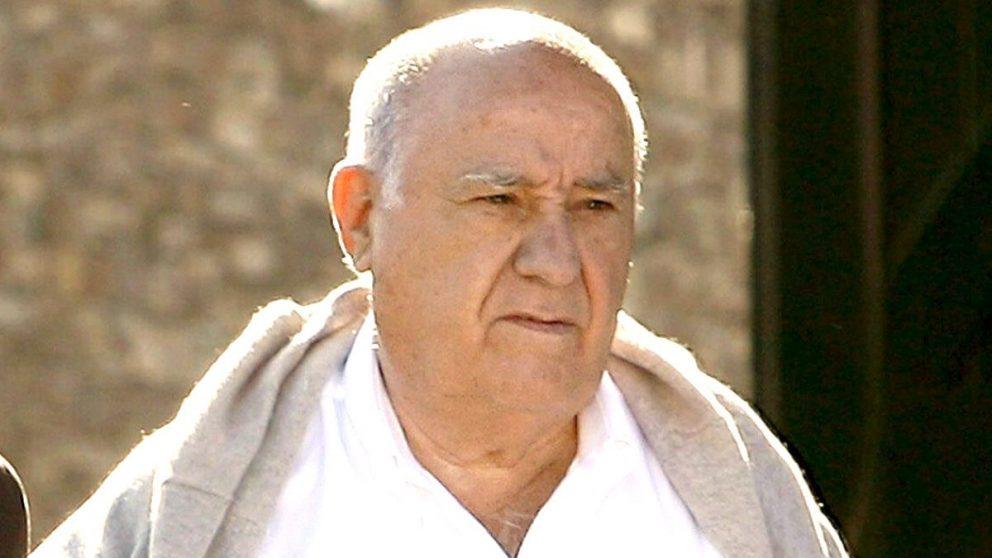 El fundador de Inditex, Amancio Ortega (Foto: EFE).