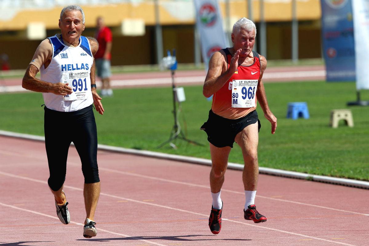 Participantes en el Campeonato Europeo de Atletismo para Veteranos de 2014 (Foto: GUETTY).
