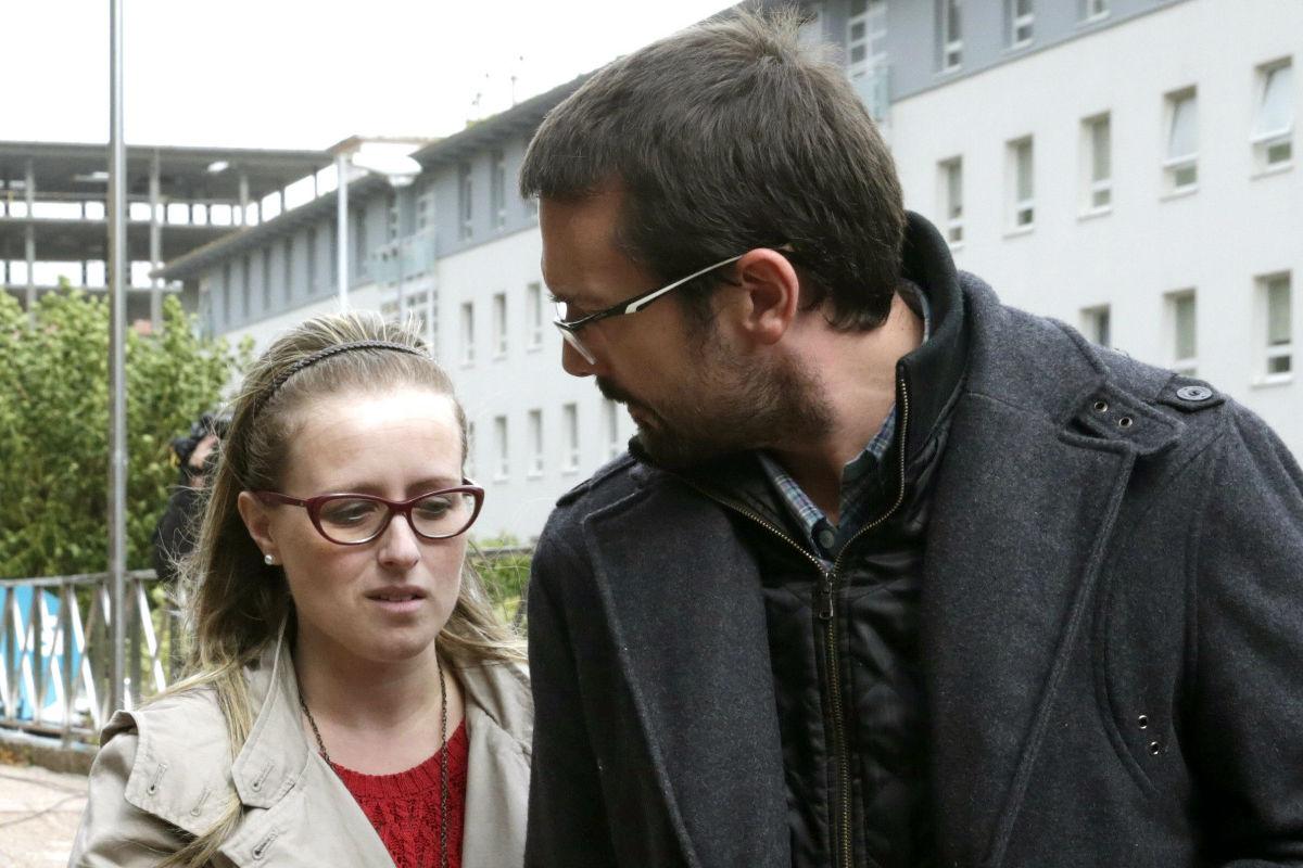 Estela Ordóñez y Antonio Lago, padres de Andrea. (Foto: (EFE)