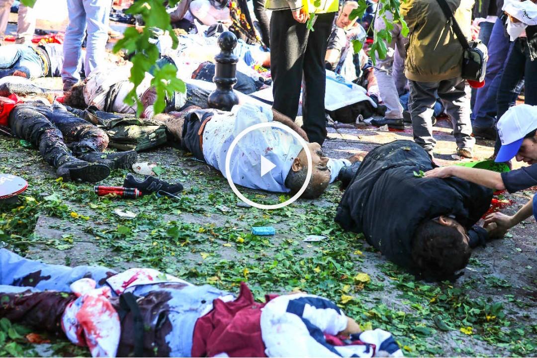 Imagen de los cuerpos sin vida de las víctimas (Foto: Getty)