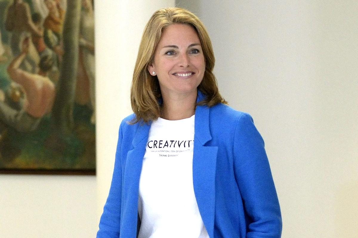 Arantza Quiroga, presidenta del PP vasco. (Foto: EFE)