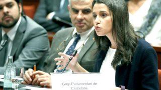 Inés Arrimadas en el Parlament catalán (Foto: Efe)