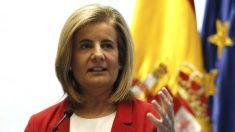 La ministra de Empleo y Asuntos Sociales, Fátima Báñez. (Foto: EFE)