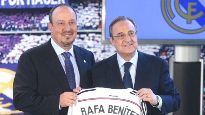 Rafa-Benítez-Florentino-Pérez-Real-Madrid
