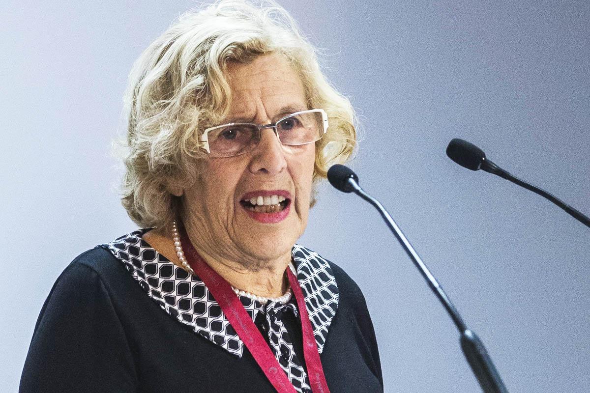 Manuela Carmena, alcaldesa de Madrid. (Foto: Getty)