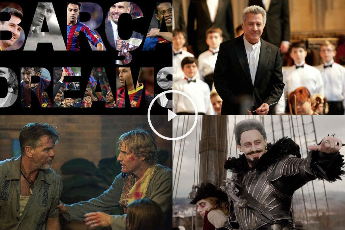 Los estrenos de la semana incluyen hasta un documental sobre el Barça.
