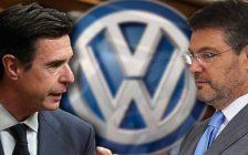 José Manuel Soria, Rafael Catalá y el logo de Volkswagen