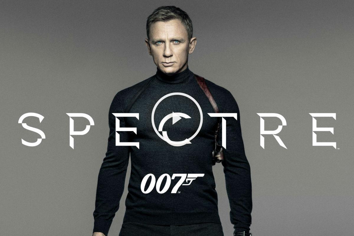 El estreno mundial de Spectre es el 6 de noviembre.