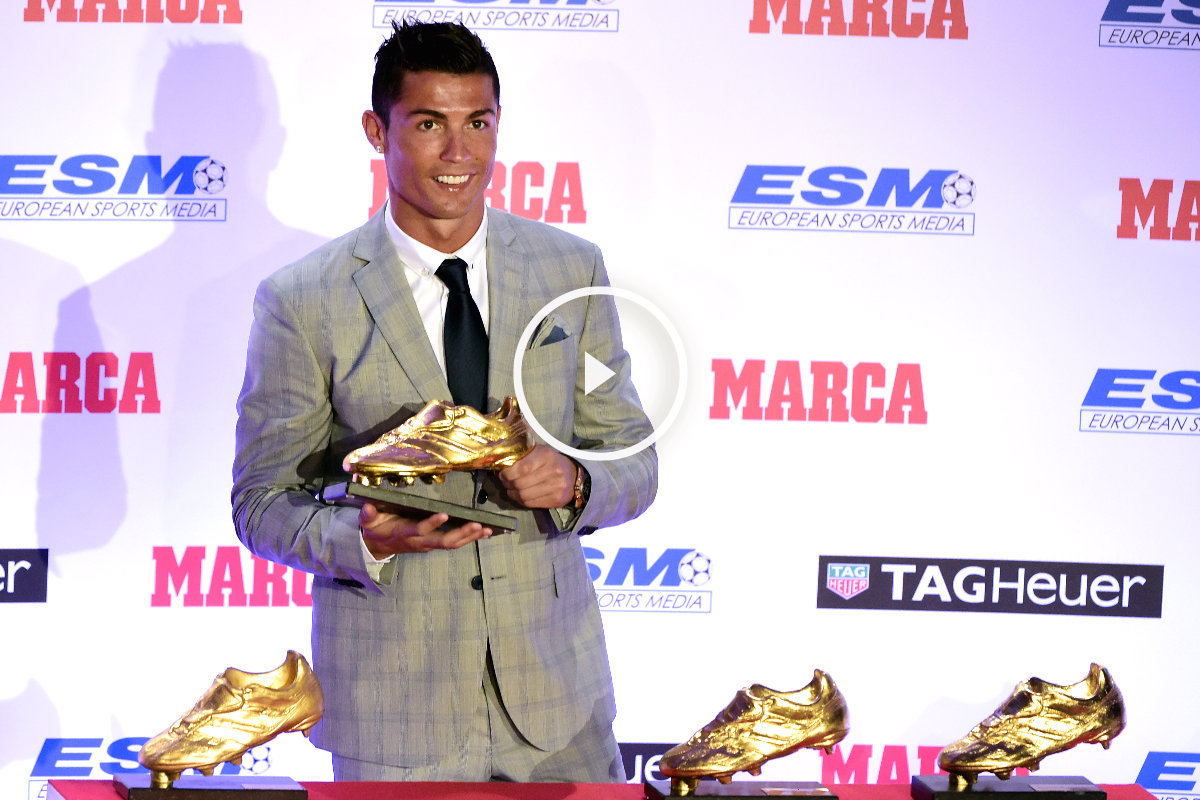 Cristiano ya tiene m s botas de oro que messi quiero m s for Que es una beta de oro