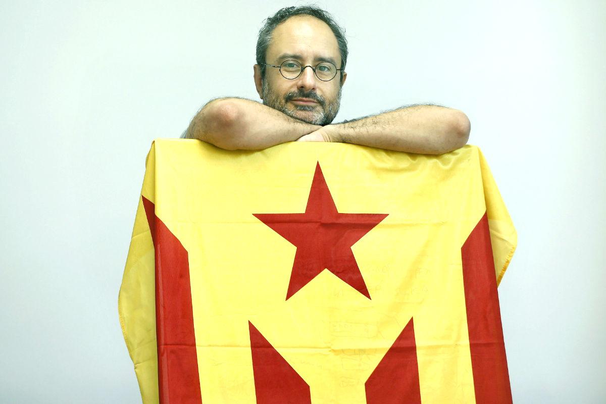 El dirigente de la CUP Antonio Baños (Foto: Efe)