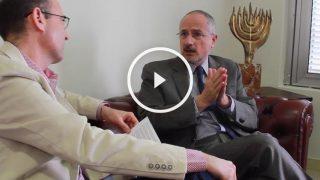 Okdiario entrevista a Daniel Kutner, embajador de Israel (Foto: Enrique Falcón).