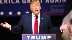 Donald Trump durante un mitin de campaña. (Foto: AFP)