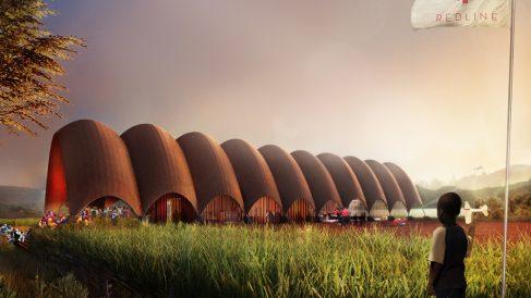 Así será el primer dronaeropuerto, en Ruanda.