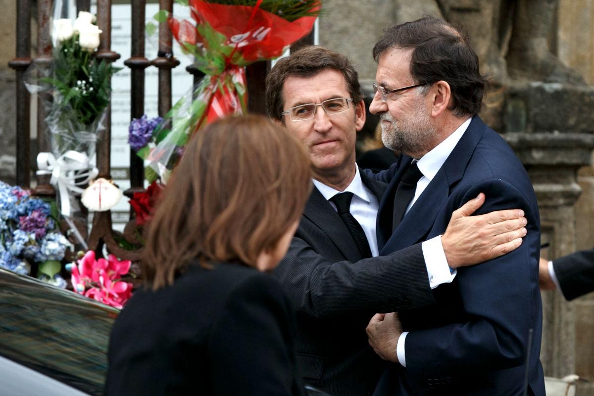 Feijóo con Rajoy en una imagen de archivo (Foto: Getty)