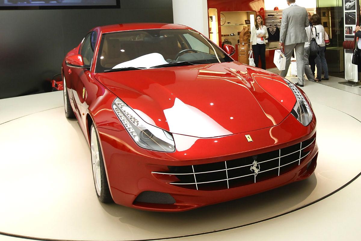Ferrari FF (Foto: GUETTY)