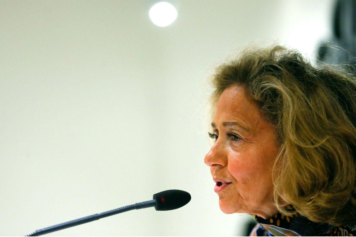 La fiscal general del Estado, Consuelo Madrigal, en un reciente acto. (Foto: Efe)
