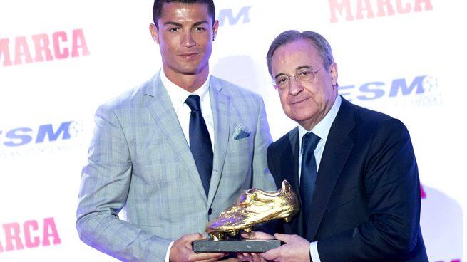 Florentino-Pérez-Cristiano-Ronaldo