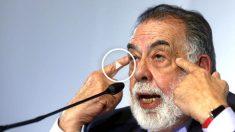 Francis Ford Coppola durante la rueda de prensa en Oviedo (Foto: Efe)