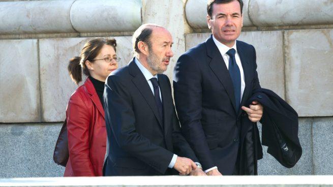 Rodrigo Rato-Zapatero-Tomás Gómez-Bankia