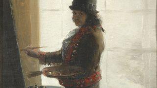 Autirretrato de Goya. (Foto: National Gallery)