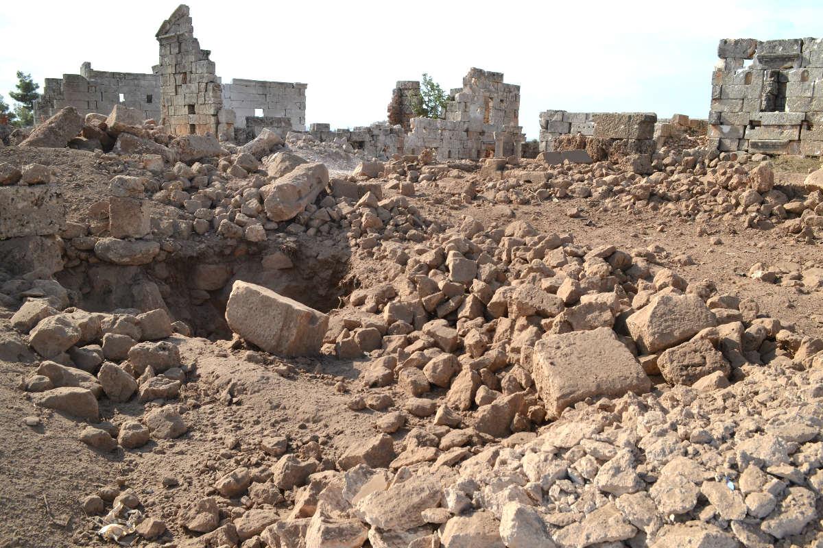 Edificios destruidos en la guerra de Siria (Foto (Getty)