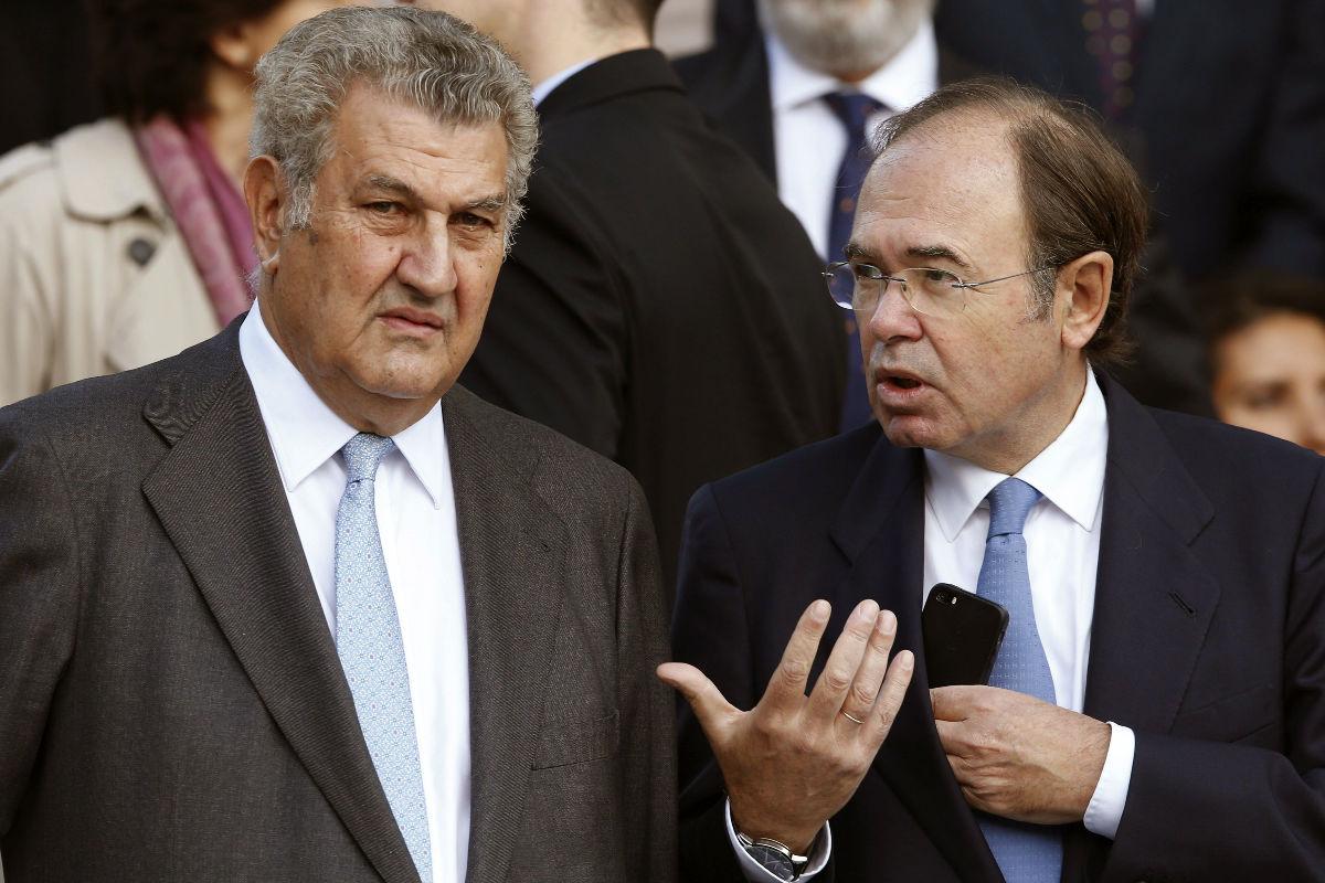 Jesús Posada y Pío García-Escudero. (Foto: EFE)