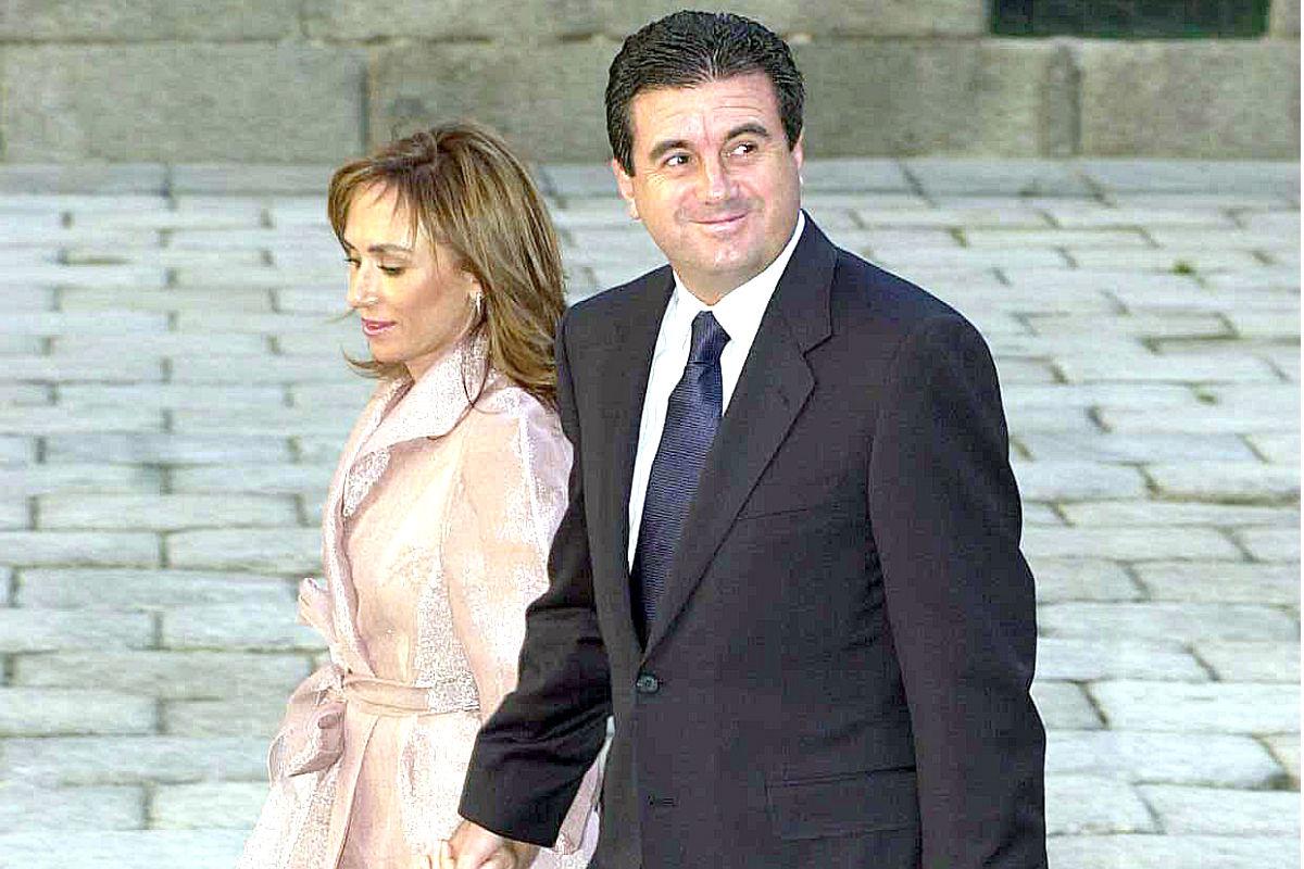 Jaume Matas y su mujer en un acto social (Foto: Getty)