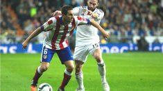 Koke y Carvajal durante el partido de vuelta de los dieciseisavos de la pasada edición de la Copa del Rey (Getty)