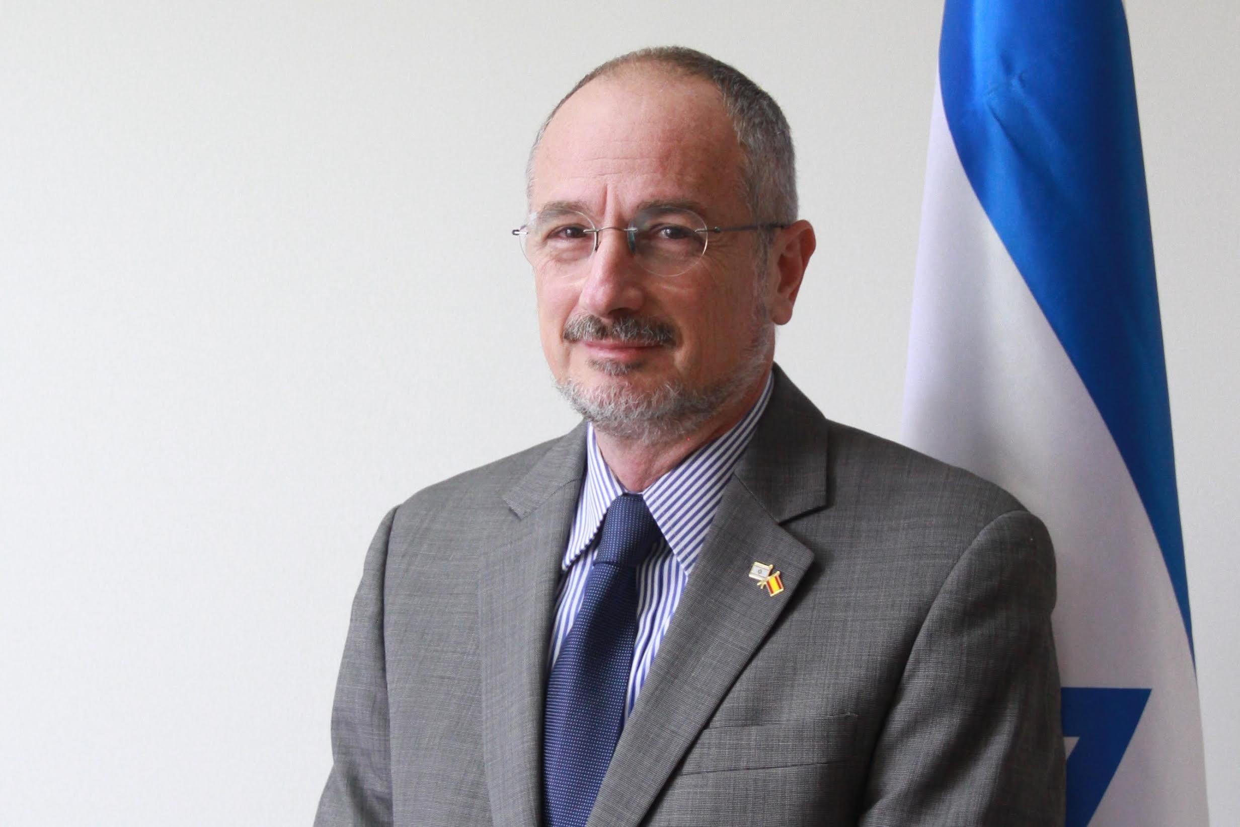 Daniel Kutner, embajador de Israel en España (Foto: Enrique Falcón).