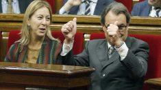 Artur Mas y Neus Munté. (Foto: EFE)