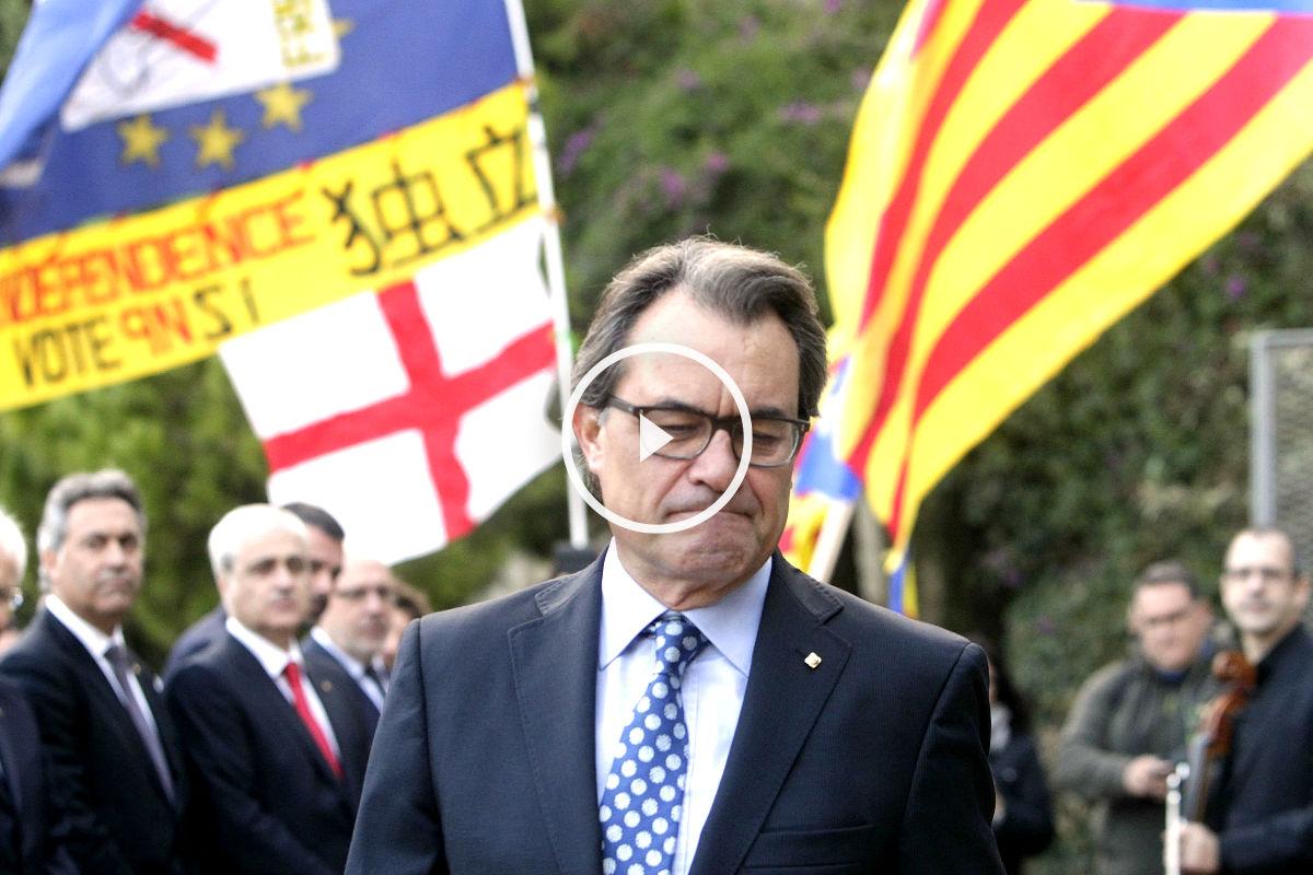 Artur Mas, presidente de la Generalitat. (Foto: Getty)