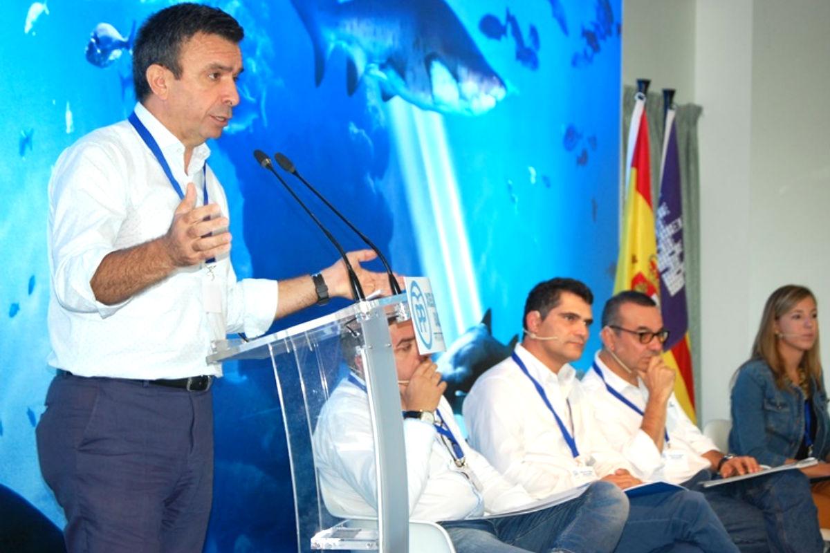 El presidente del PP balear Miquel Vidal, en un acto del partido (Foto: PP balear)