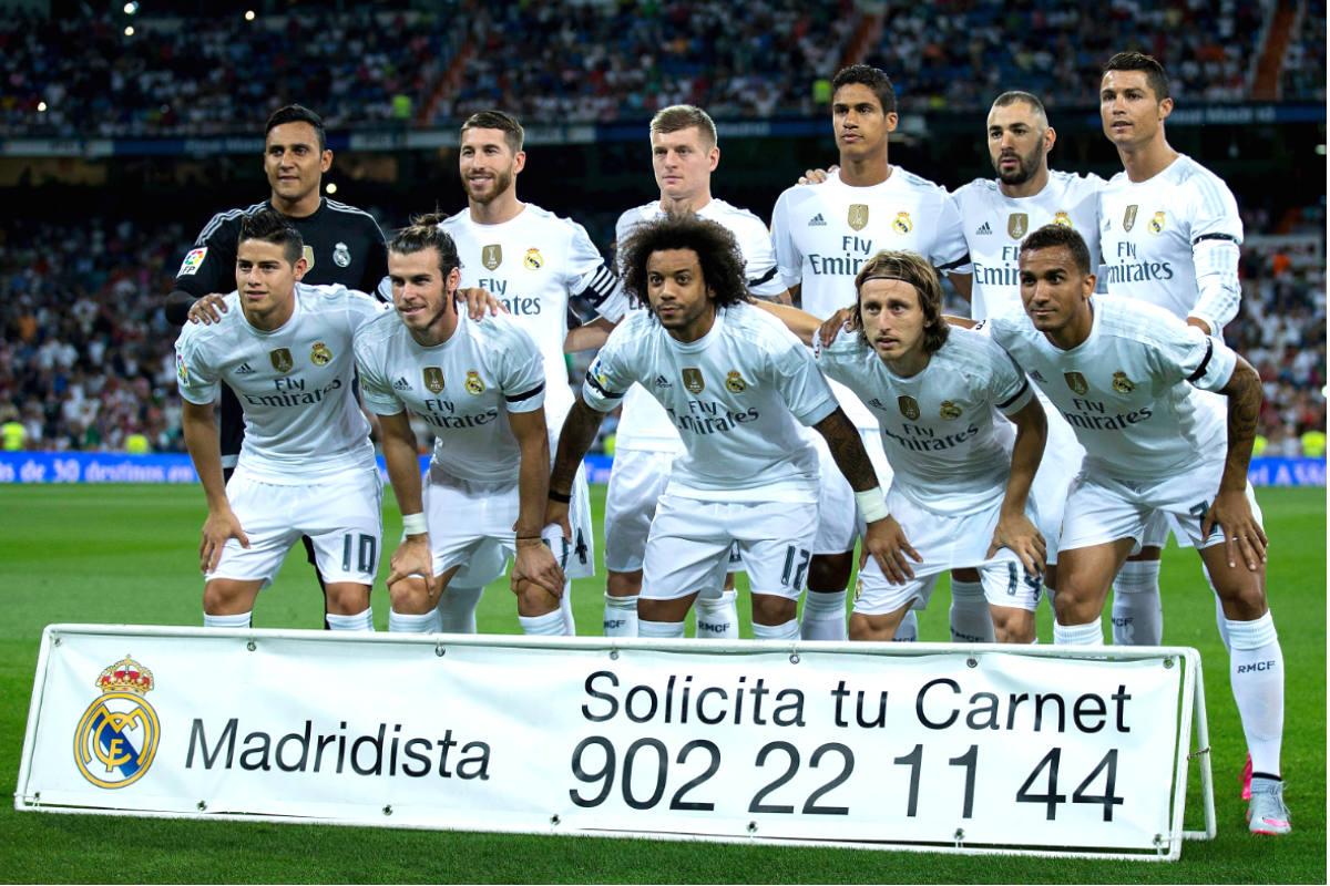 El once del Real Madrid ante el Betis