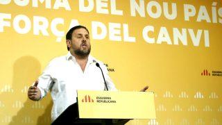 Oriol Junqueras en un acto de ERC (Foto: Efe)